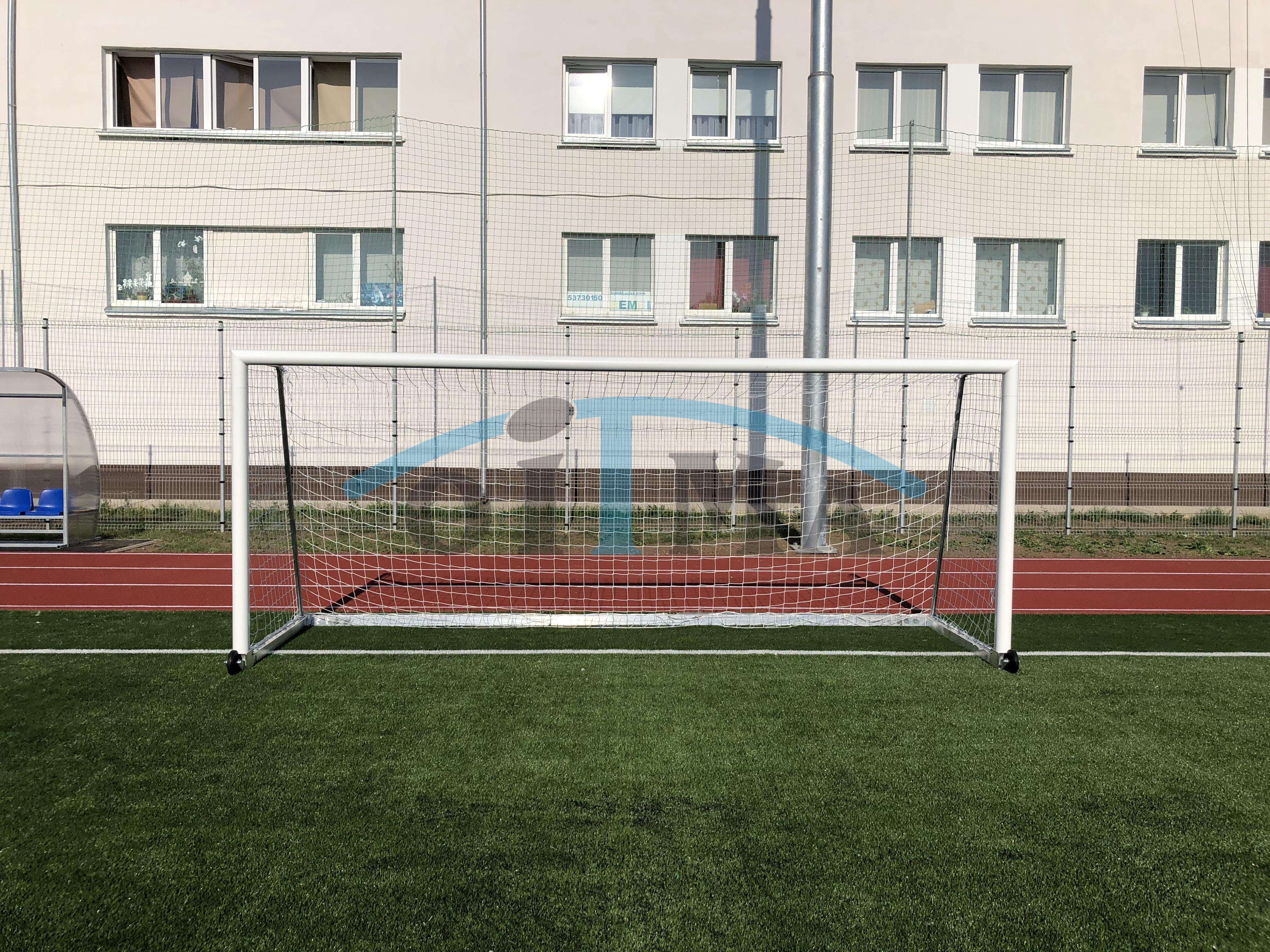 Jalgpalliväravad 5x2m Vabaltseisev, alumiiniumist