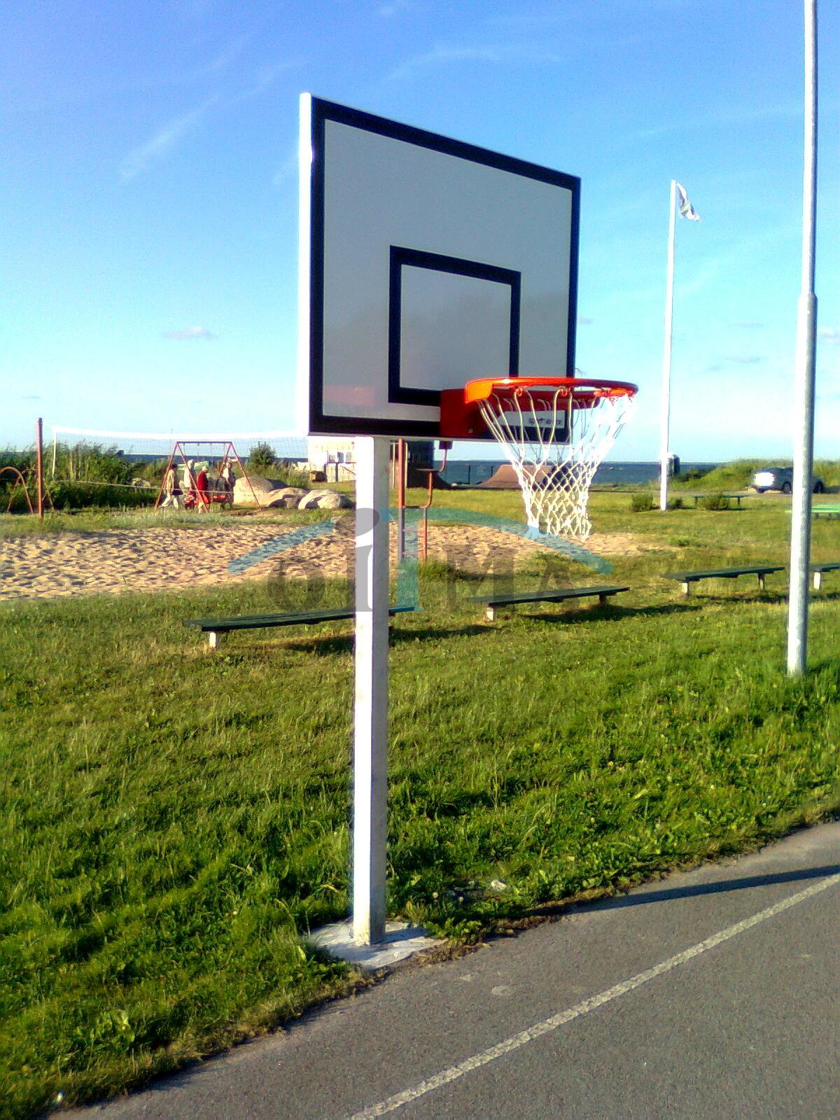 Korvpalli välikonstruktsioon