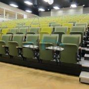 Auditorium telescopic tribune