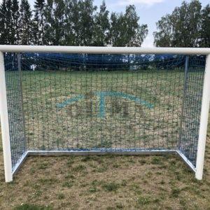 Jalgpallivärav 3x2m, vabalt seisvad, keevitatud nurkadega, alum.